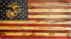 Click this Image to visit the Custom Wood American Flags category.